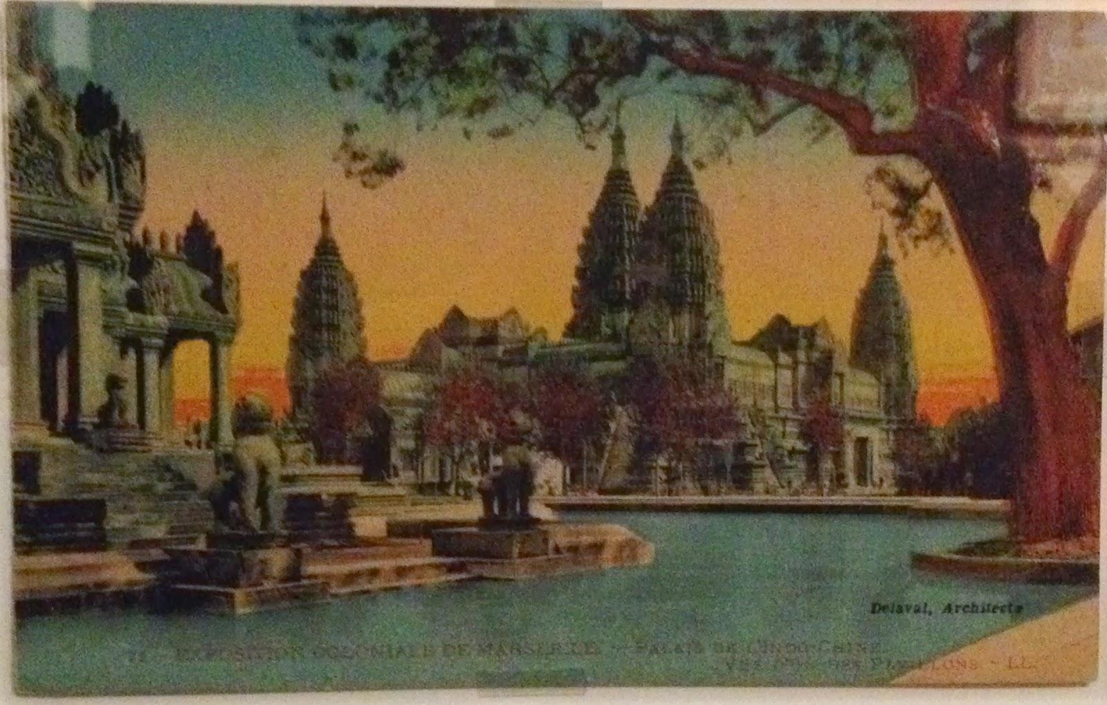 """Connu Toucher Angkor, encore et en corps; l'invention de """"l'art khmer  ND84"""