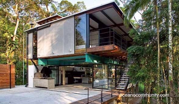 Casa moderna de arquitectura Tropical en Panamá