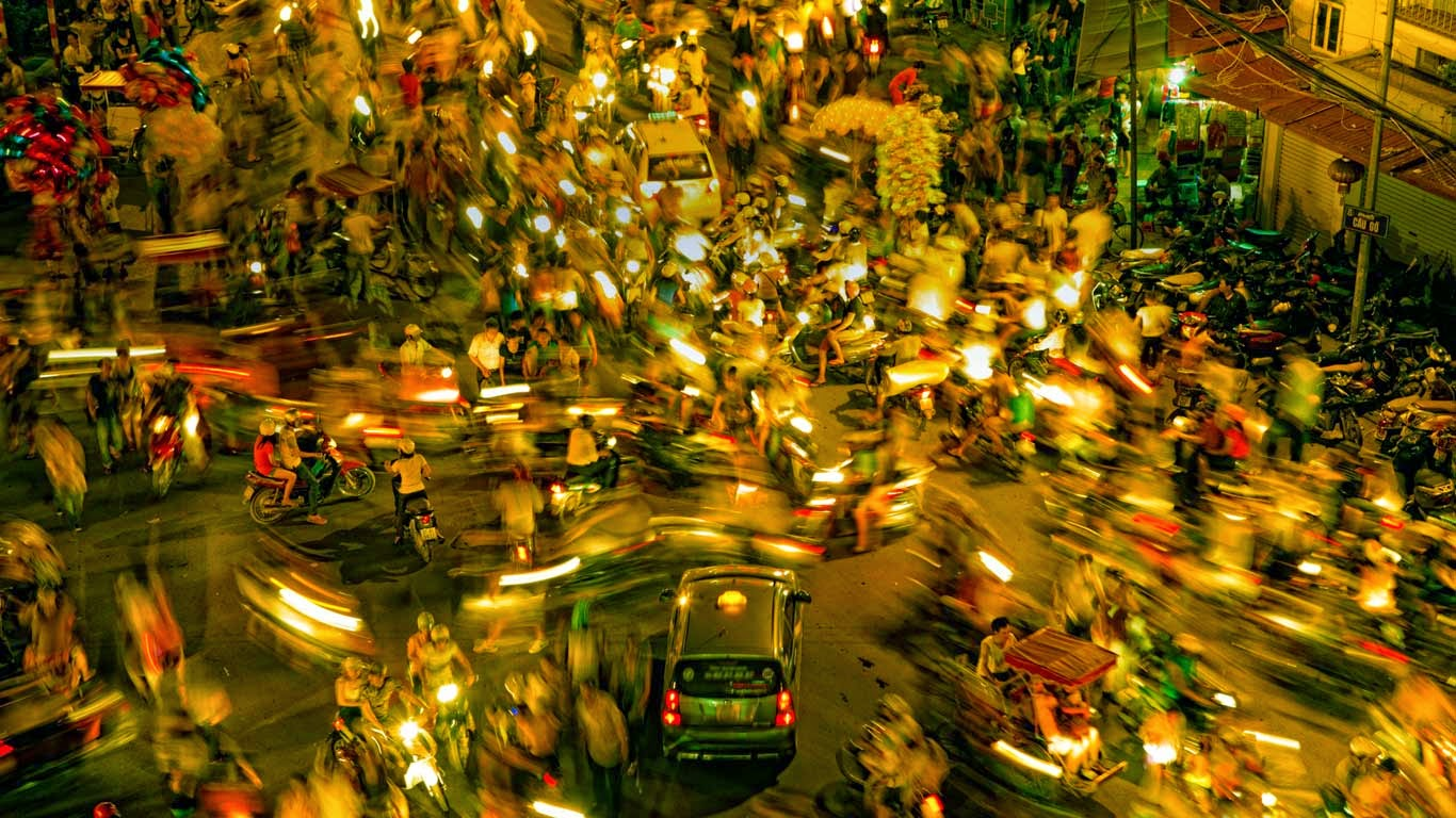 Hanoi, Vietnam (© David Santiago Garcia/Aurora Photo) 92