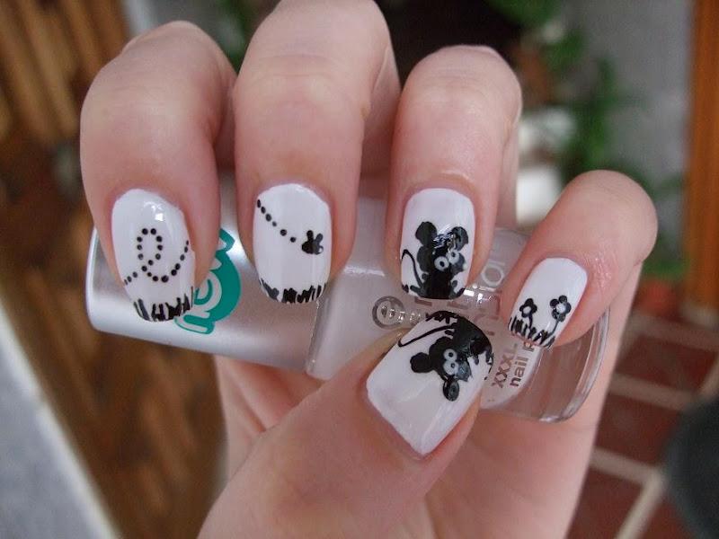 Noxelia: Stamping nail art: Look de uñas Nº 31