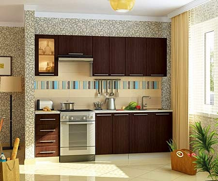 Small Kitchen Design Pictures Open Small Kitchen Design On Single Wall Small  Kitchen Designs ...