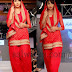 Mirchi Red Patiala Salwar