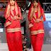 Mirchi Red Patiala Salwar