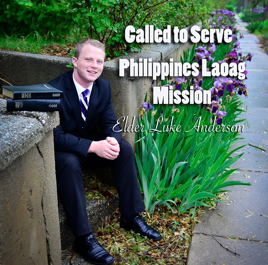 Called To Serve Elder Luke Anderson, Philippines Laoag Mission