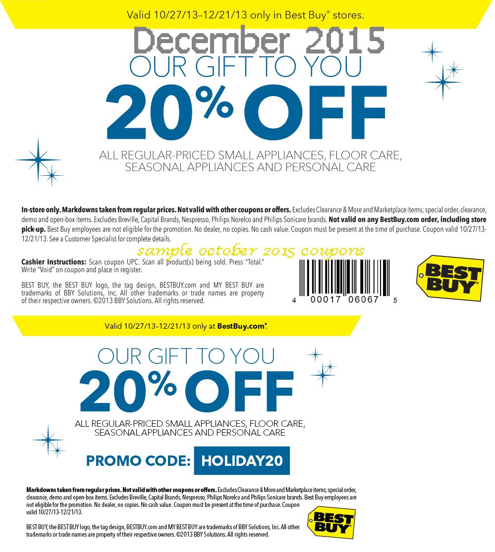 Best buy coupons december 2019