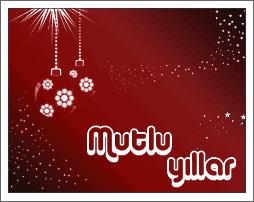 Yeni yil kutlama mesajlari ve yilbasi tebrik kartlari yeni yıl te