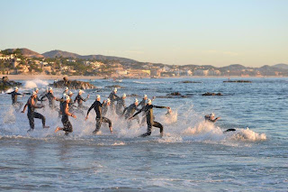 Ironman Cabo Swim Start Pro Men