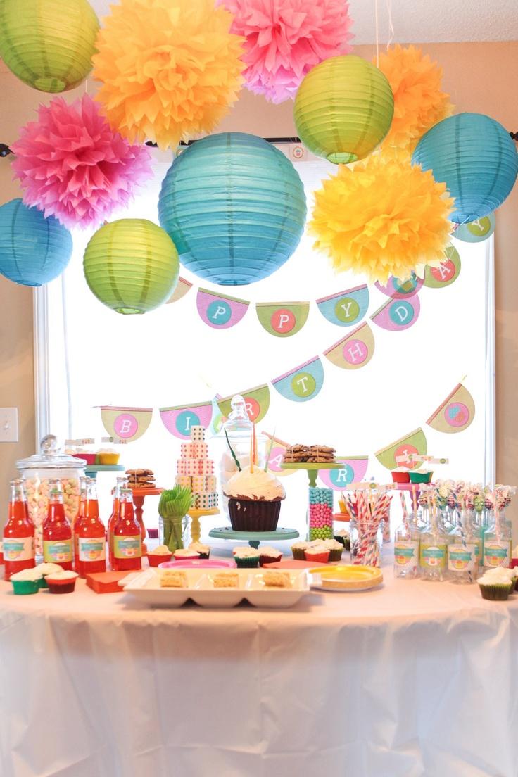 Fiesta estilo Candy Party Una Decoracin dulce para tus fiestas