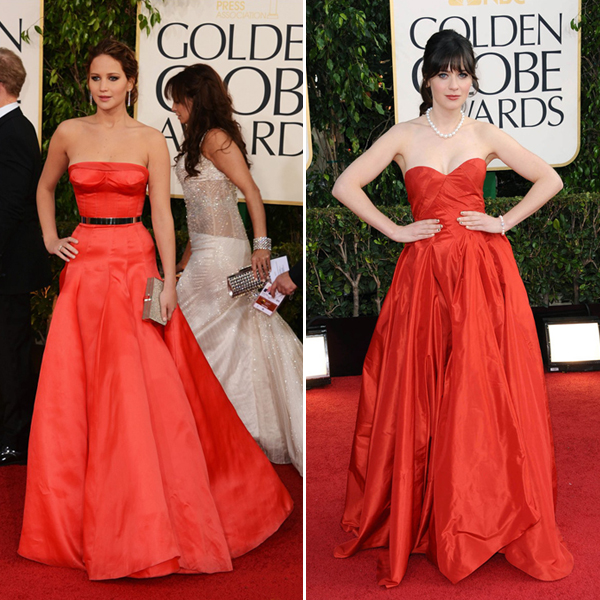 GOLDEN GLOBE DRESSES ON DESIGN AND FASHION RECIPES