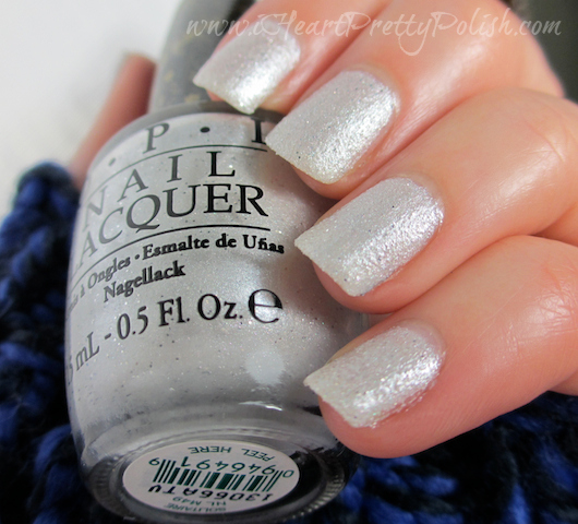 OPI Bond Girls Liquid Sand Solitaire