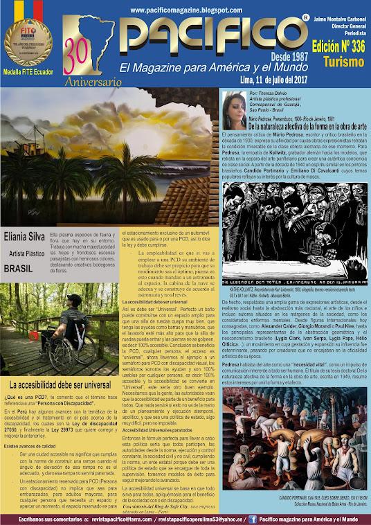 Revista Pacífico Nº 336 Turismo