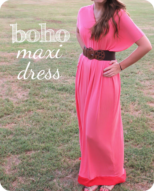 Boho Maxi Dress Pattern Boho Maxi Dress a Tutorial