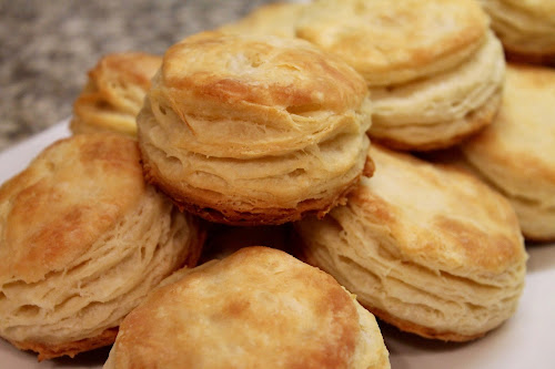 Butter-Laminated Biscuits