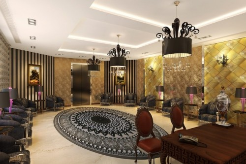 Th Most Luxurious Interior Design Like Family Palace: