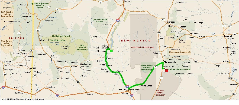 Roving Reports by Doug P 20136 Alamogordo New Mexico