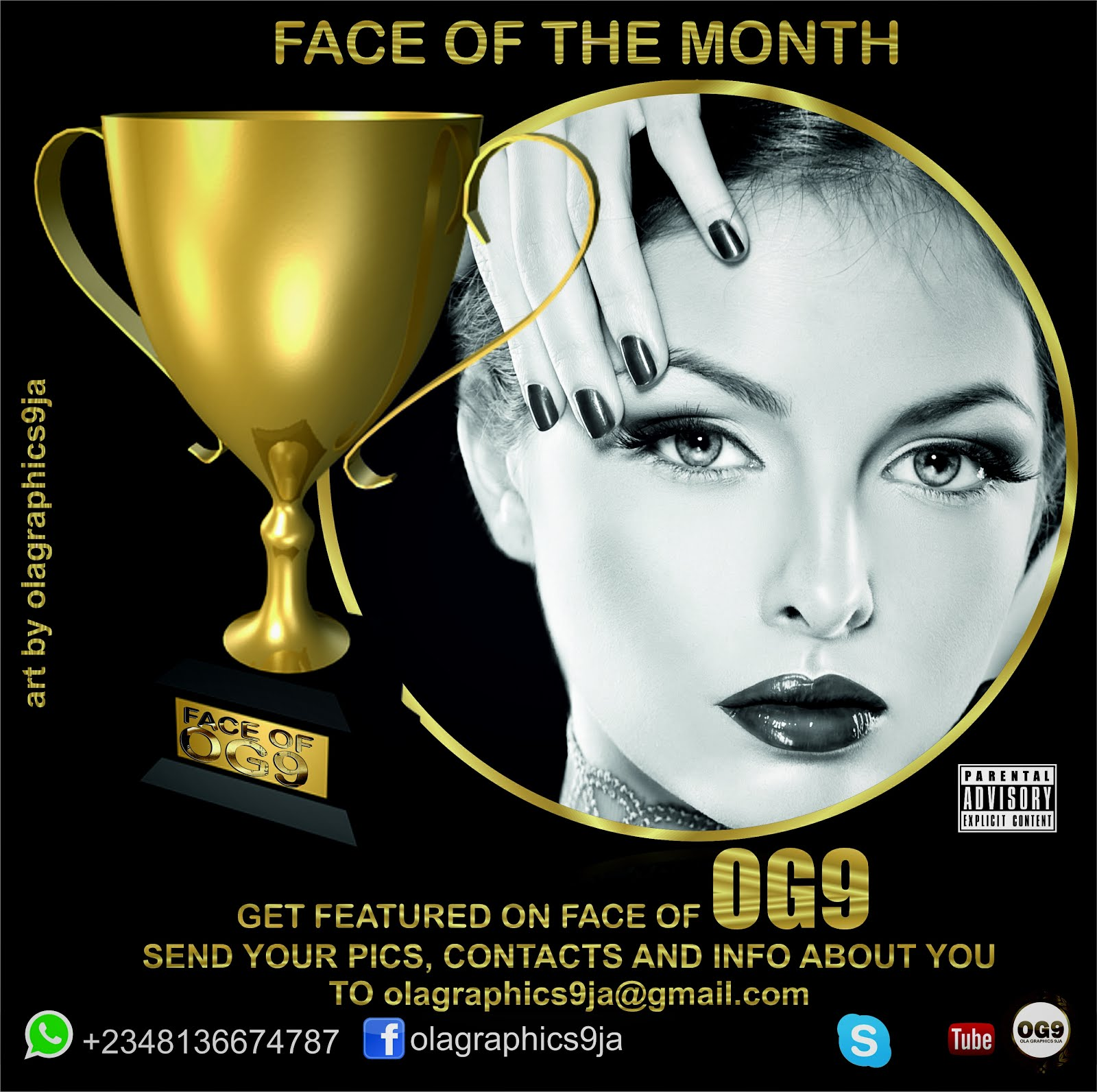 FACE OF OG9 CONTEST