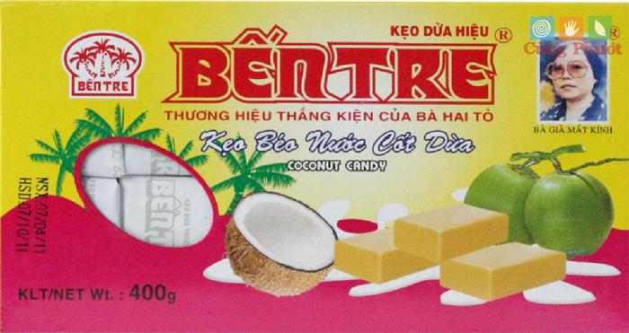 Quy trình sản xuất kẹo dừa Bến Tre