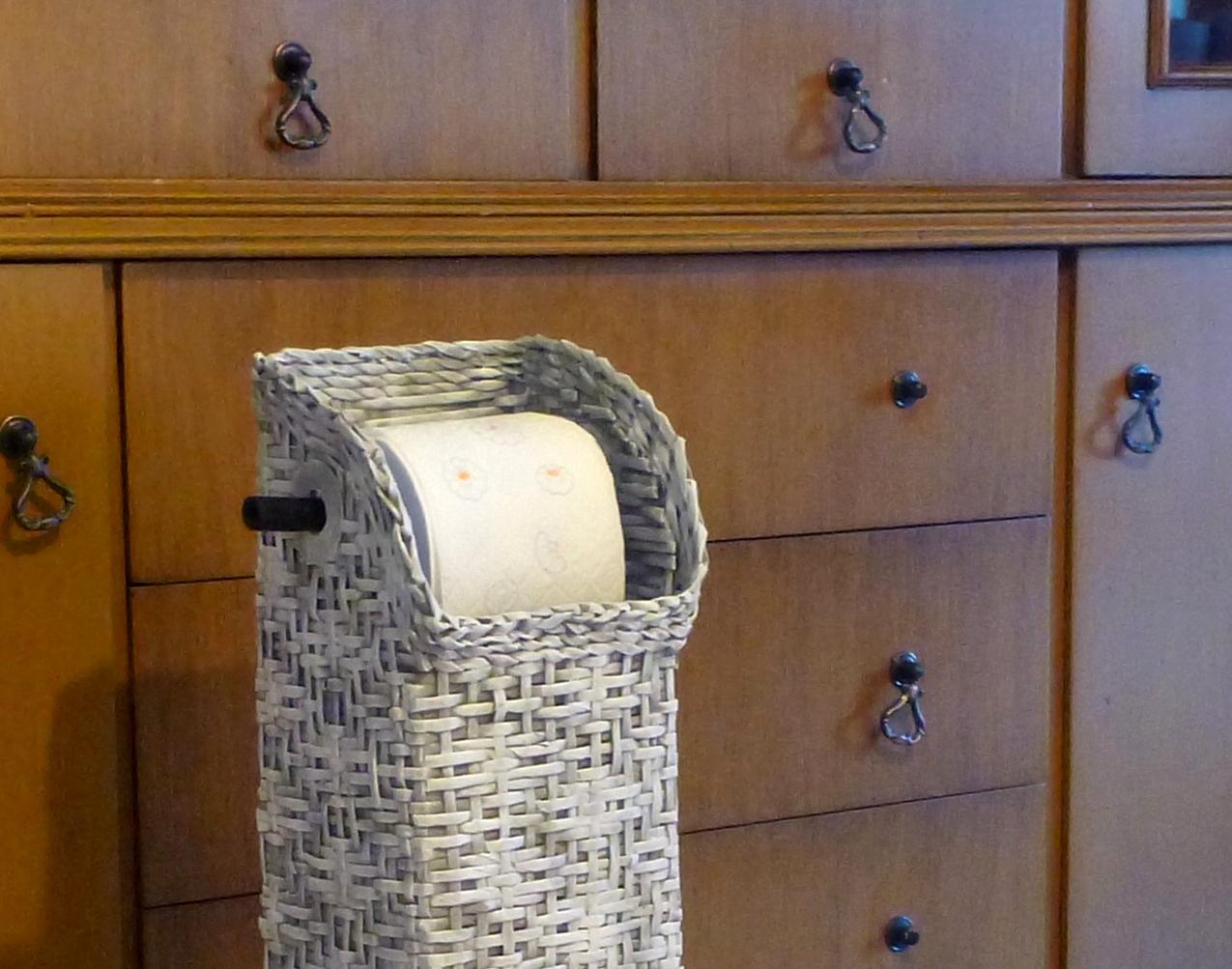 Eccezionale Gerry Creations: Colonna porta rotoli d carta igienica e distributore. DY82
