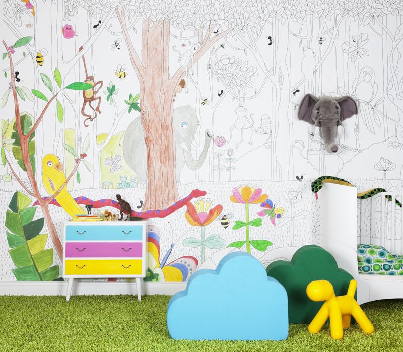 Au?ergew?hnliche Kindertapeten : Au?ergew?hnliche Tapeten – Trendwelt