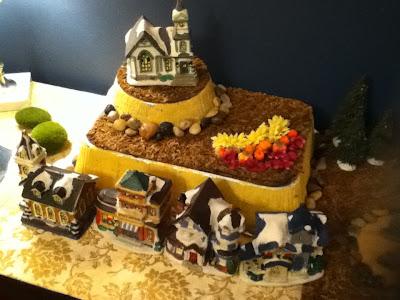 harry potter halloween miniature village