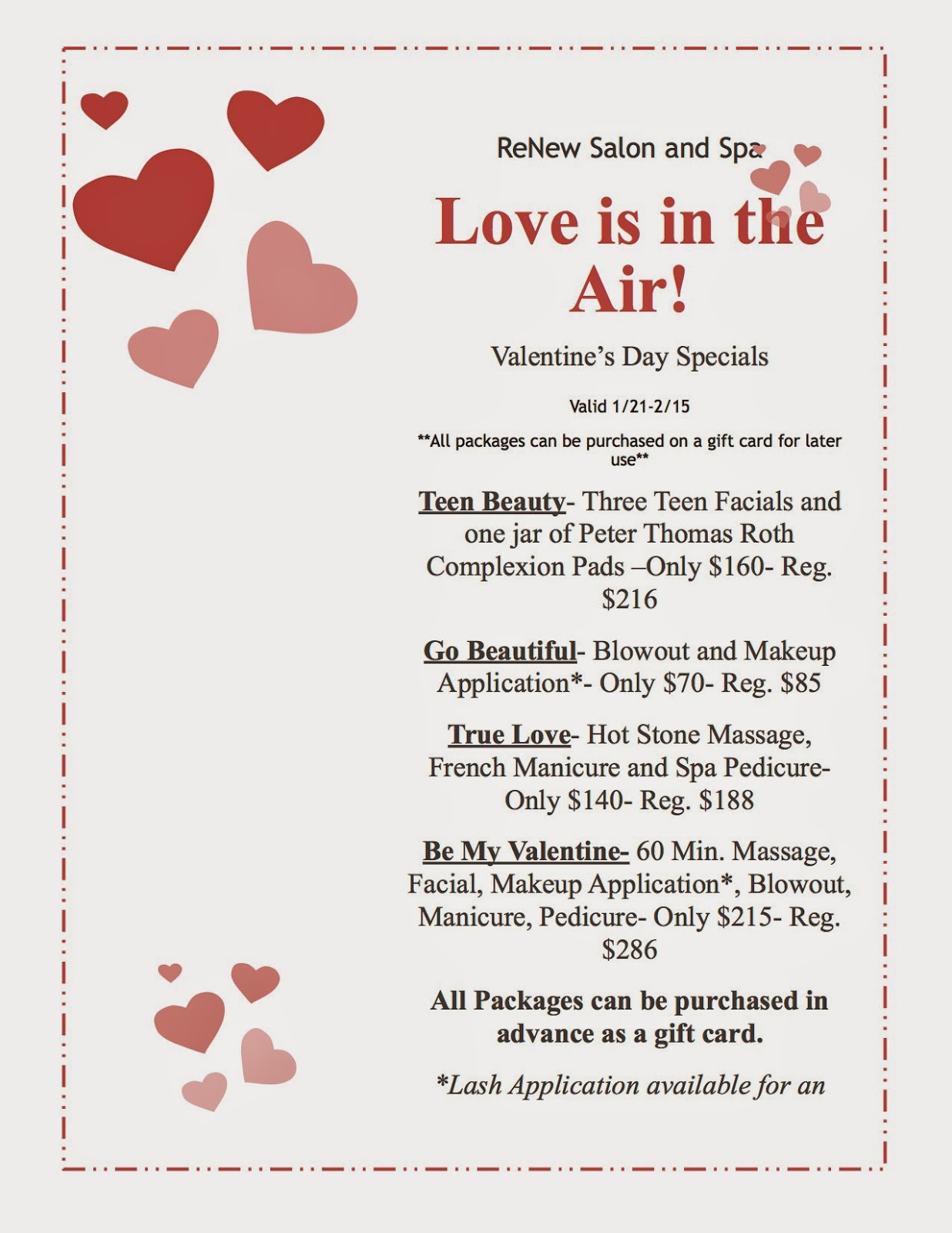 Valentines Day Packages Valentine Gift Ideas