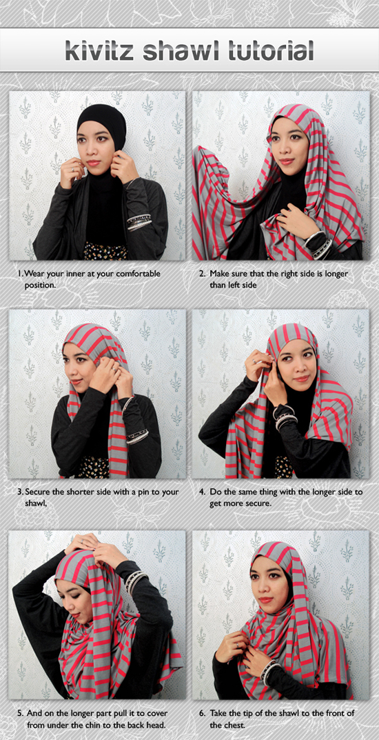 gambar shawl+tutorial+1 gambar tutorial hijab square