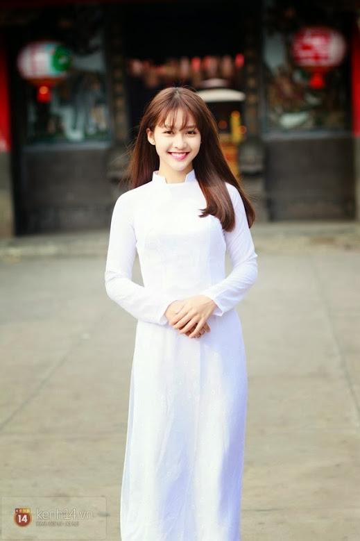 Ảnh gái đẹp diệu dàng trong tà áo dài 3