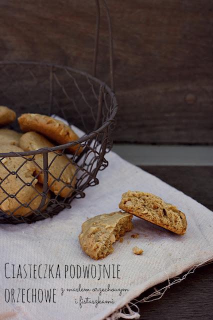 Ciasteczka podwójnie orzechowe