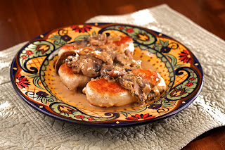 chicken+fricassee Hearty Chicken and Mushroom Fricassee