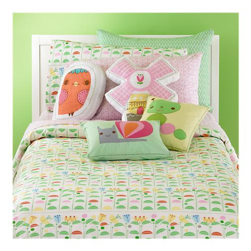jeanie jewell new land of nod bedding. Black Bedroom Furniture Sets. Home Design Ideas