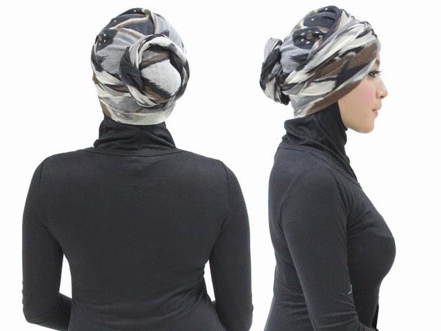 Jilbab Turban Sederhana
