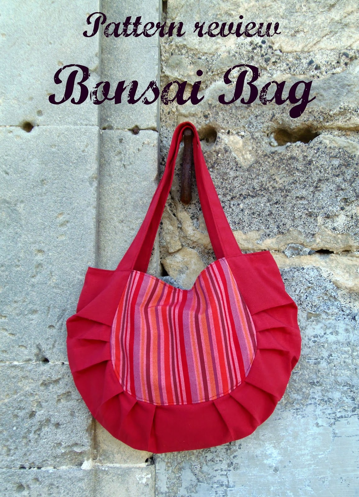 made by rae bosai bag made by me