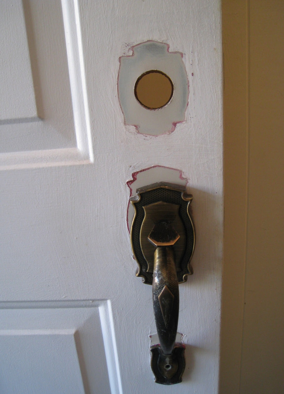 toronto money pit how to install a front door lock