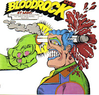 BLOODROCK. Cover+front