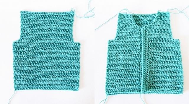 Crochet Baby Cardigan Little Things Blogged Bloglovin