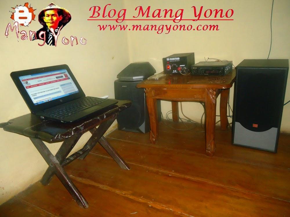 Kantor Redaksi Blog Mang Yono di lembur kuring