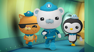 Octonauts Captain Barnacles Kwazii Kitten Peso Penguin