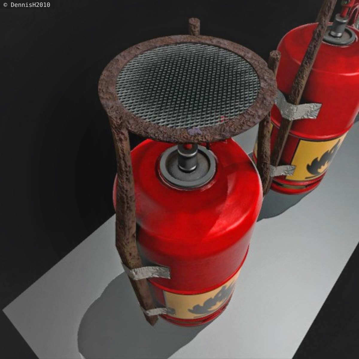improvised gas cooker by DennisH2010