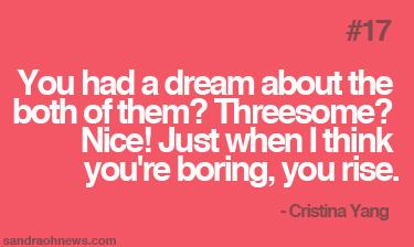 cristina yang quote