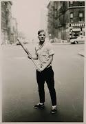 'Teenager With A Baseball Bat'. 1962. Posted by Farrarallama at 05:15