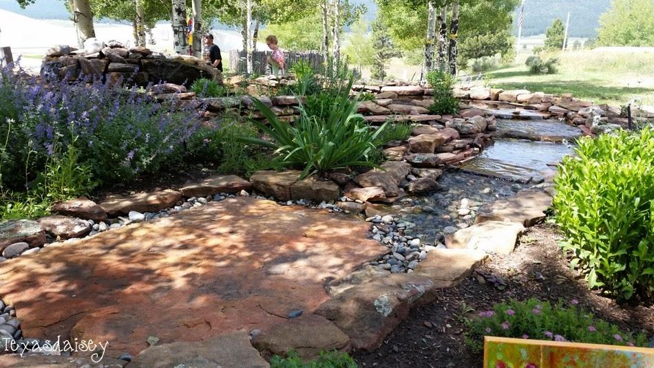 Angel Fire New Mexico mountain Vietnam Veterans Memorial Water Garden