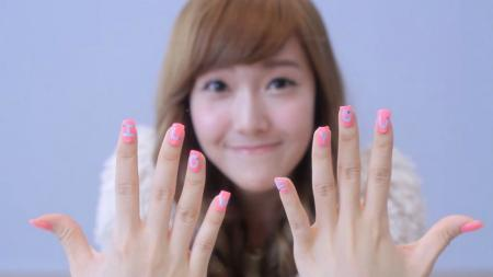 ccs nails k pop idols showing their gorgeous nails these were from daum screensavers snsd sicas nails say i love you i say i love you too sica 3 prinsesfo Image collections