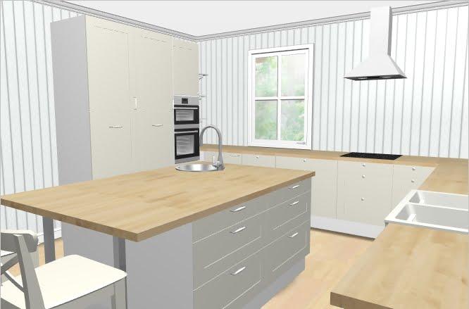 Drøymehuset: Kjøkken