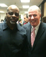 Kevin Cothran with UFCW 371 President Tom Wilkinson