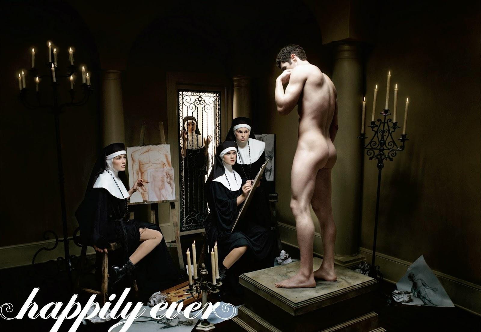 Nude catholic art erotic images