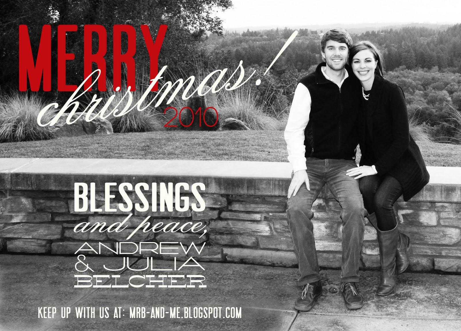 Redbud Designs Blog: custom christmas card design!