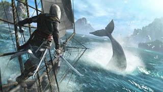"""Capitão Edward Kenway diz: """"se cuida, Free Willy!"""""""