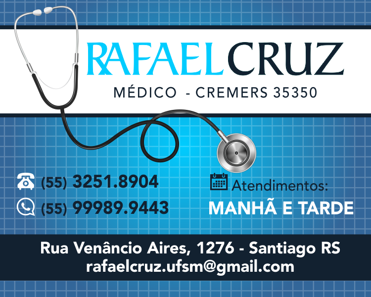 Médico Rafael Cruz - Clínico Geral!