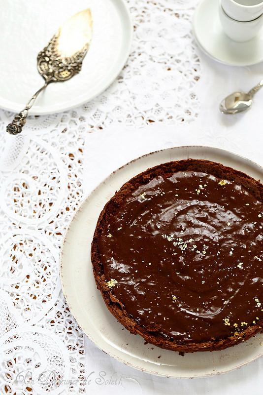 Torta tenerina (fondant au chocolat, sans gluten)