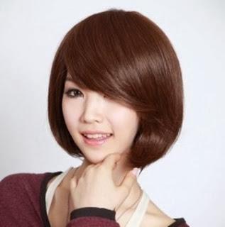 Tren model gaya rambut pendek bob wanita 2014 terbaru 1